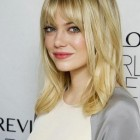 Trendy haircuts with bangs