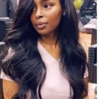 Wave weave hairstyles
