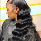 Wavy weave hairstyles for black hair