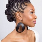 Black braided hairstyles 2018