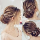Bridal hairstyle 2018