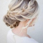 Bridesmaid updos 2018