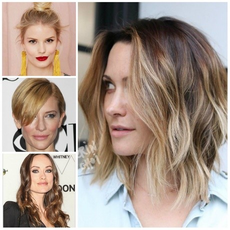 Hairstyle for 2018 for long hair