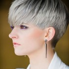 Hairstyle for short hair 2018