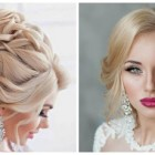Hairstyle for wedding 2018