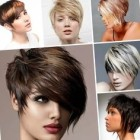 Ladies short hairstyles 2018