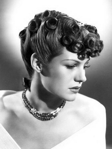 40s style hair 1940s hairstyles for hair 1937
