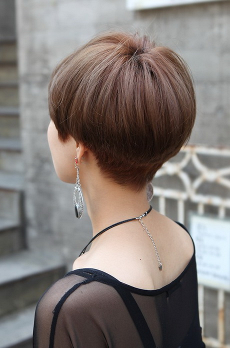 short haircuts from the back view back view of hairstyles 5236 | back view of short hairstyles 86 12