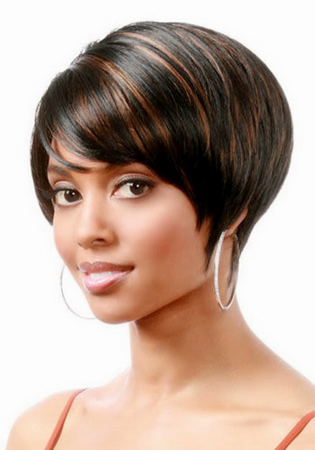 hair style short bob black feathered hairstyles 7632 | black feathered hairstyles 40 15