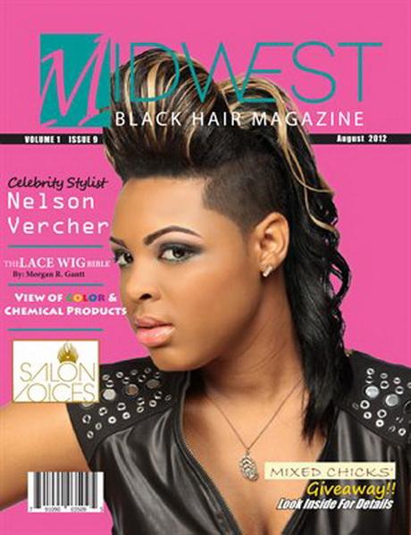 Hairstyle Magazine: Black Hair Magazine Hairstyles