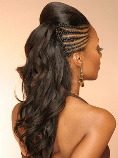 Black hairstyles for the beach