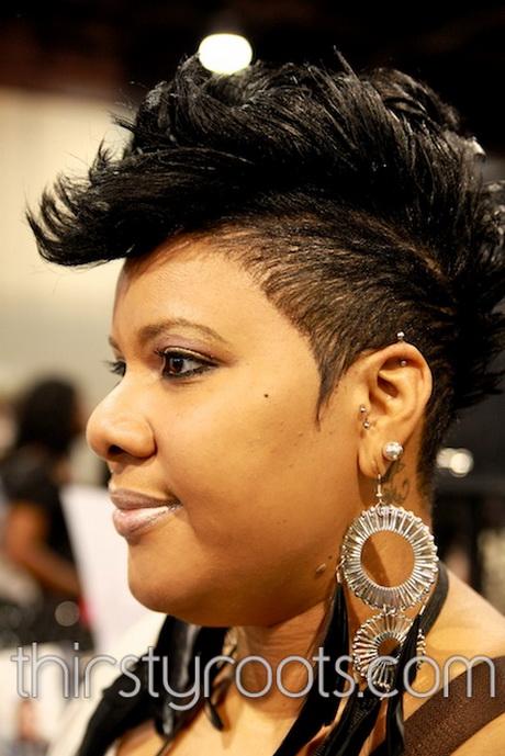 Black Mohawk Hairstyles For Women