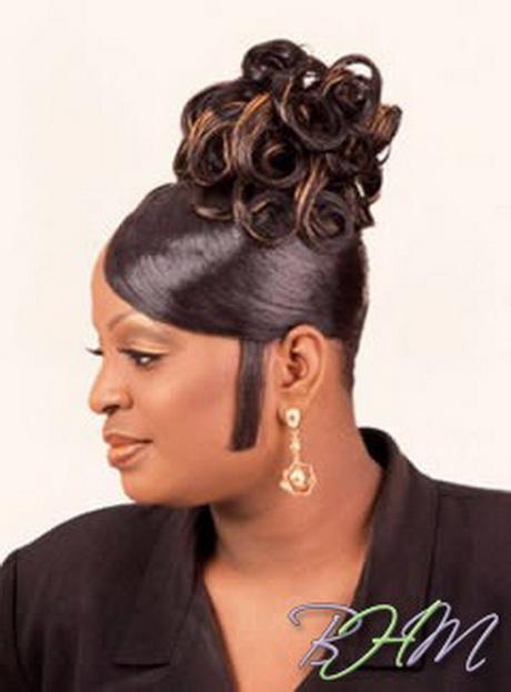 Black People Updo Hairstyles