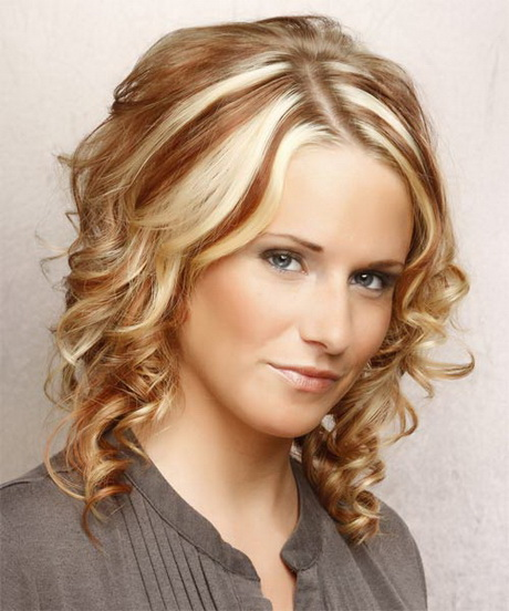 cool styles for medium length hair cool curly hairstyles for 6875
