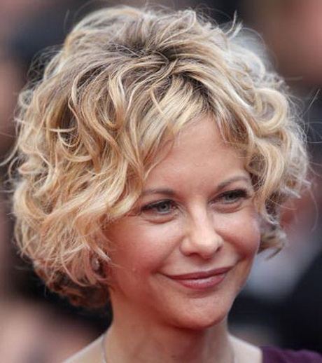 Curly short hairstyles for women over 50 - Cute Short Curly Hairstyles