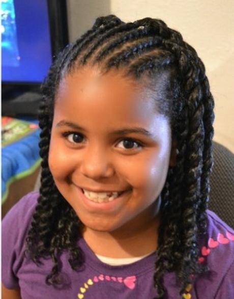 Cute braided hairstyles for black girls