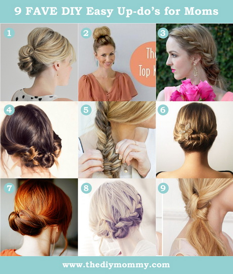 easy hair up styles to do yourself do it yourself hairstyles hair 5520