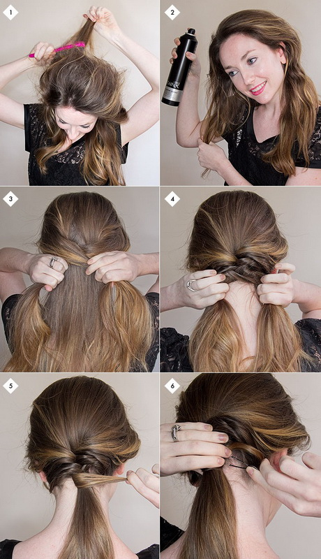 easy ways to style long straight hair easy step by step hairstyles for hair 9270 | easy step by step hairstyles for long hair 73 17