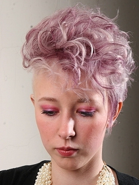Edgy Curly Hairstyles