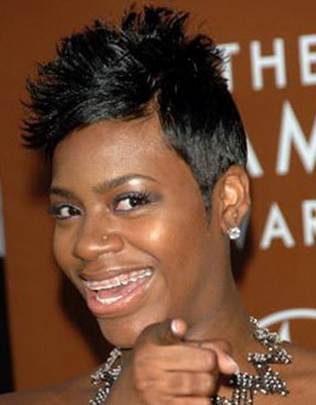 Fantasia Short Hair Styles