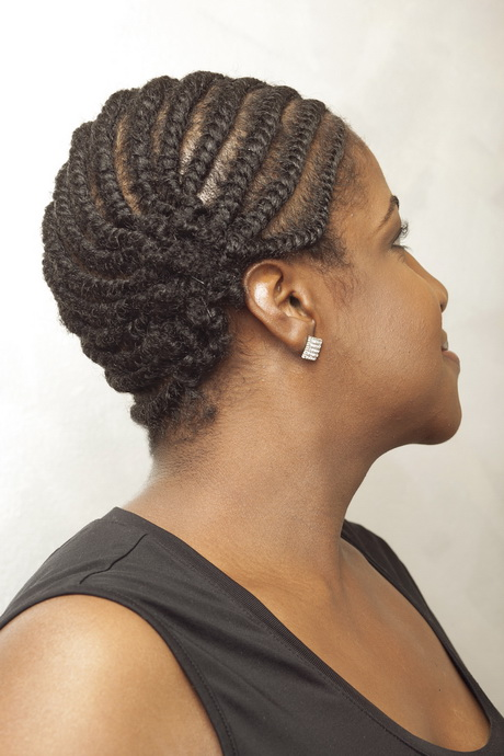 Flat Twist Hairstyles For Black Women