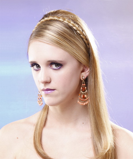 Formal hairstyles for long straight hair