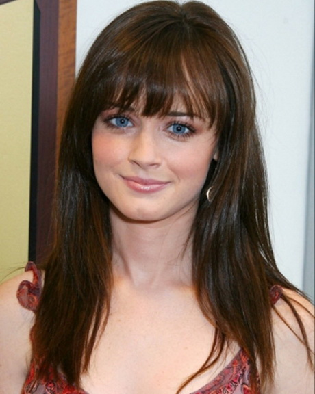 Haircuts For Long Hair Oval Face