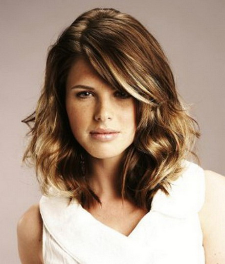 medium length haircuts thick hair 2014 hairstyles with layers hairstylegalleries 3066