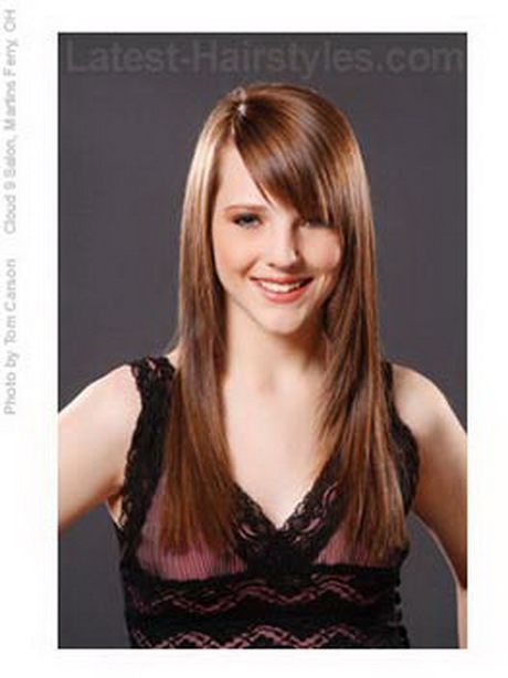 Hairstyles For Long Hair And Bangs