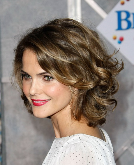 Hairstyles For Short Thick Curly Hair