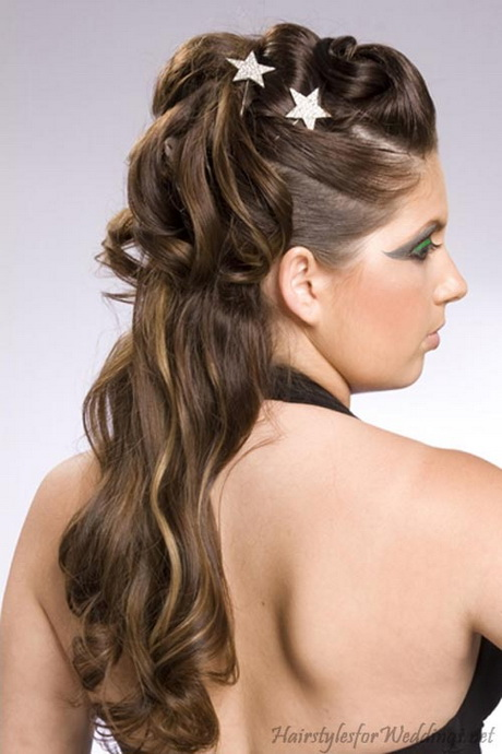 hair style half up half half up hairstyles for hair 8929