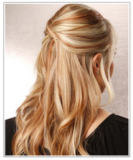 Half Up Half Down Hairstyles For Straight Hair: Half Up Half Down Hairstyles For Long Hair