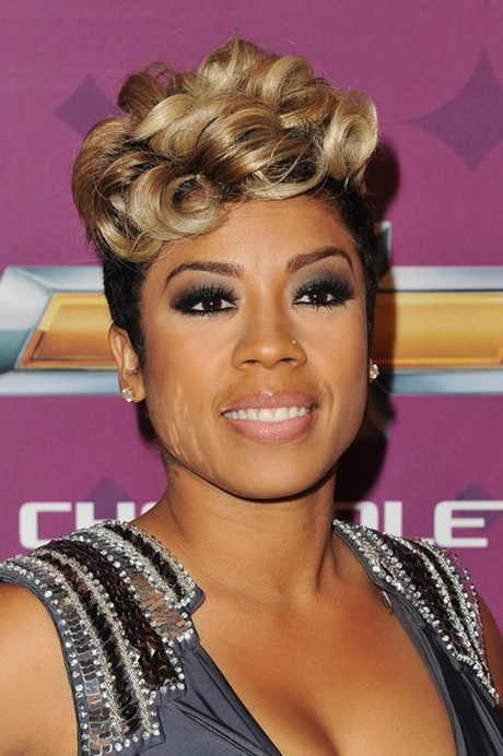 Keyshia Cole Short Hair Styles