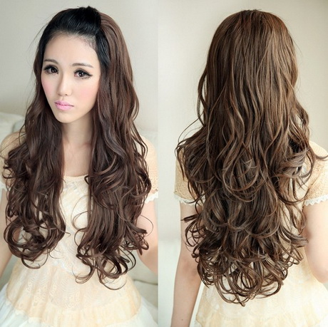 new hair style girl korean curly hairstyle 3202 | korean curly hairstyle 85 16