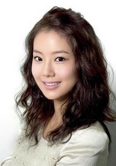 korean style curly hair korean curly hairstyle 4551