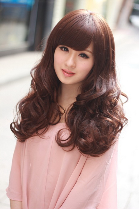 korean style curly hair korean curly hairstyles 4551