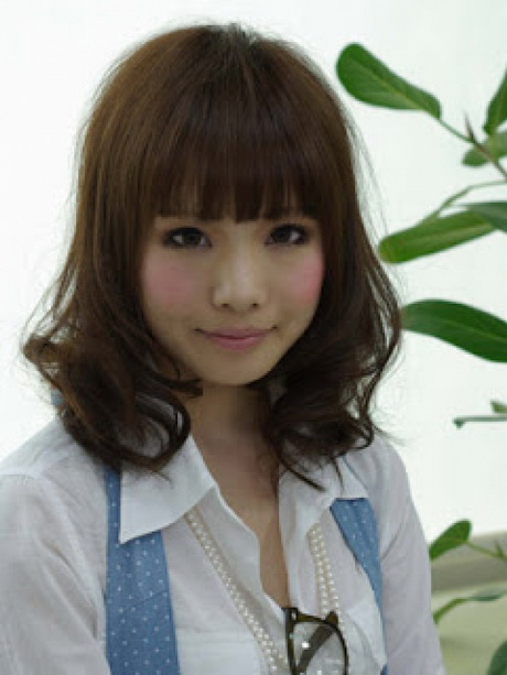 korean hair style korean medium haircut 7528