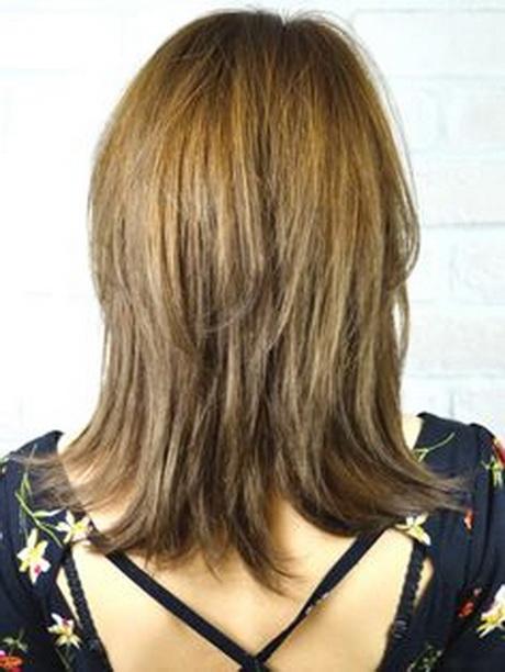 Layered Haircuts Back View