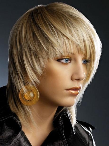 Medium Asymmetrical Haircuts