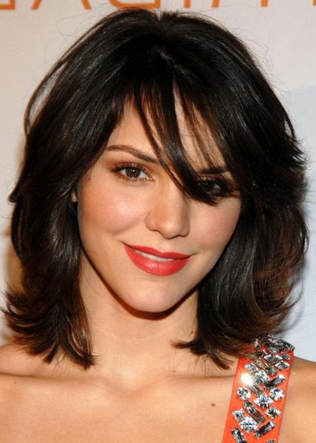Medium Brunette Haircuts