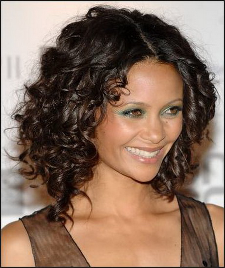 medium length haircuts for naturally curly hair medium length curly hairstyles 3275
