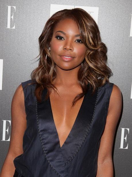 Medium length hairstyles for black women