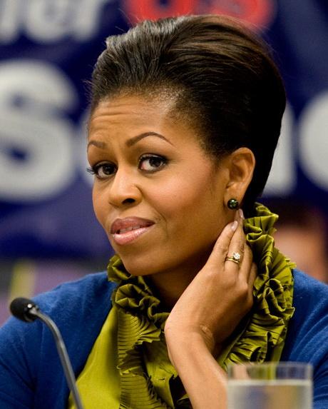 Michelle Obama Haircut