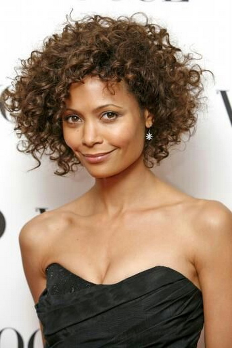 Natural Curly Short Hair Styles