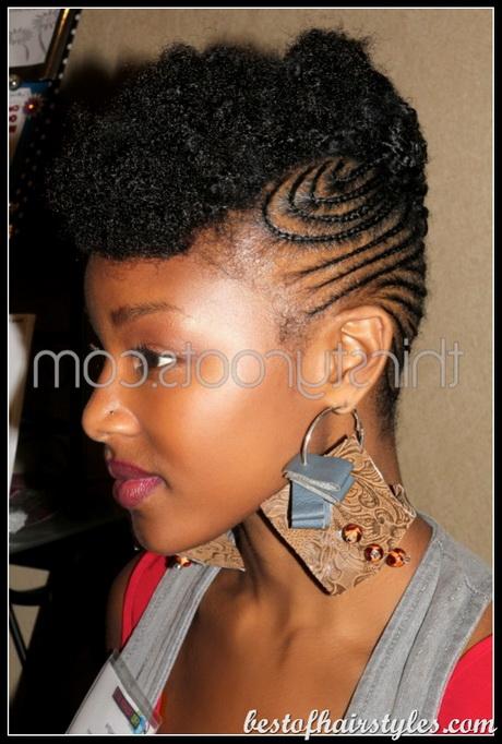 Cute girls hairstyles bun hawk