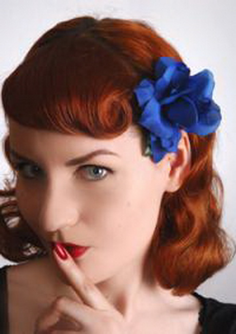 medium hair pinup styles pin up hairstyles for medium hair 5155