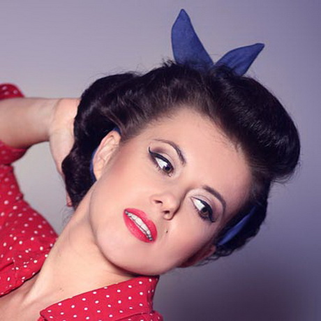medium hair pinup styles pin up hairstyles for hair 5155