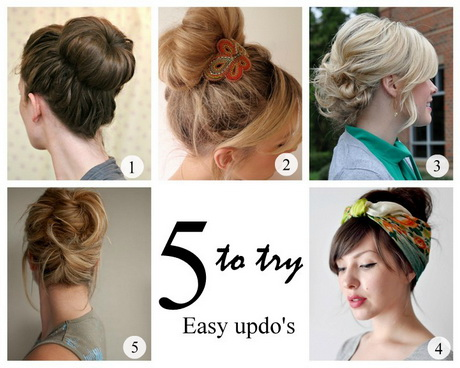 easy hair up styles for hair put up hairstyles for hair 6879