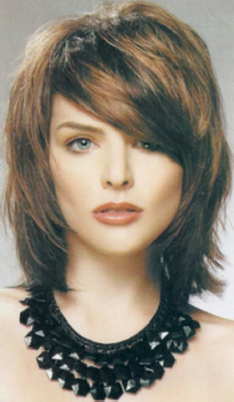 Shaggy Medium Length Hairstyles