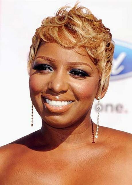Short Blonde Hairstyles For Black Women